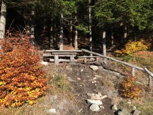 Lavička na panoramatech