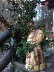 Vánoční stromek a František Dobrota